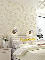nouvelle rainbow ™ peint floral contemporain 3d de luxe papier peint revêtement mural art mural non-tissé de tissu