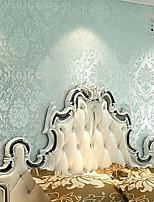 New Rainbown™ Retro Wallpaper Floral Retro Classic Blue Wall Covering Non-woven Fabric Wall Art
