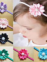 Flower Hairband Hair Accessories Baby Girls Lace Headband  baby Infant Girl Hair Weave Band Children Hair Clips