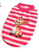 FUN OF PETS® Cartoon Giraffe Pattern Stripe Design Vest for Pets Dogs(Assorted Sizes)
