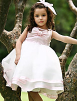 Girls party dress gown sequined bow Kids Baby Toddler wedding Birthday dresses