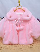 Girl's Fashion Simplicity  Short Sleeve Cotton Blend Warmth Shawl