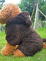 Casacos - Inverno - Marrom Algodão - para Cães - S / M / L / XL