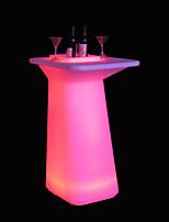 llluminated mobilier de bar table de bar à cocktails loisirs table de bar à cocktails