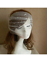 Wedding Veil One-tier Blusher Veils / Communion Veils Cut Edge