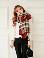 Women Wool Blend Autumn-Winter Matching Scarf , Vintage / Casual