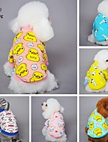 FUN OF PETS® Lovely Cartoon Character Pattern Fleece T-Shirt Coat for Pets Dogs (Assorted Sizes and Colours)