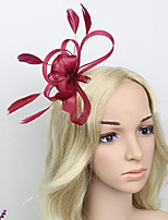 Women Fabric Hair Comb , Cute / Party Flower Headpiece