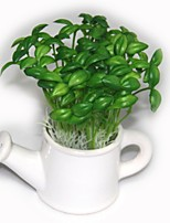 The Simulation Flowers And Green Plants Bean Sprouts Plastic Plants Artificial Flowers(10PCS)