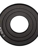 noir c-mount lentille de film ciné à Canon EOS m m2 m3 lentille de la caméra bague adaptatrice objectif CCTV c-eos m