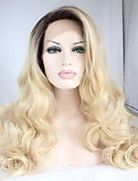 Capless Long  Fashion Light Brown Synthetic Hair Wigs