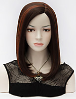 Top Quality New Fashion Women Long Straight U Part BOBO Hair Black Highlights Red Lolita Puracas Synthetic Women Wig