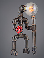 Vintage Retro Robot Pipe Table Lamp Table light One light