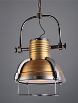 LOFT Vintage Industrial Pendant Lights Traditional Classic Vintage  Retro  Country  Bowl Living Room Bedroom Dining Room