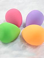Top Face Mujer Cara de limpieza Cepillos Rostro / Labios Esponjas Naturales Verde / Naranja / Rose / Violeta