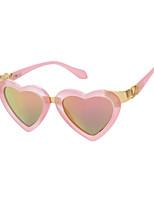 Women's 100% UV400 Love Heart Fashion Mirrored Sunglasses