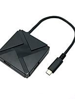 usb 3.1 type C usb-c om meerdere 4-poort hub-adapter voor de nieuwe MacBook&Chromebook pixel