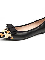 Women's Shoes Flat Heel Comfort / Pointed Toe / Closed Toe Flats Dress / Casual Black / Pink / Red