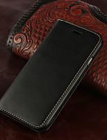 Pour Coque iPhone 7 Coques iPhone 7 Plus Coque iPhone 6 Coques iPhone 6 Plus Portefeuille Porte Carte Clapet Coque Coque Intégrale Coque