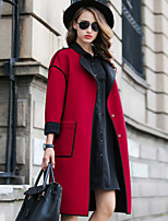 Women's Fashion Casual Party Work Plus Sizes Trench Coat
