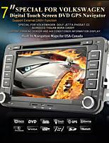 7 Inch Car DVD-speler voor Volkswagen met GPS, TV, iPod, Bluetooth