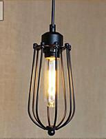 Lampe suspendue - Rustique / Vintage / Rétro - avec LED - Métal