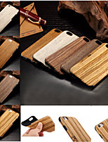 Para Funda iPhone 7 / Funda iPhone 7 Plus / Funda iPhone 6 / Funda iPhone 6 Plus Diseños Funda Cubierta Trasera Funda Fibra de Madera