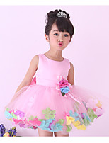 Girls Princess Dress Kids Baby Toddler Tutu Petal Wedding Party Evening Dresses