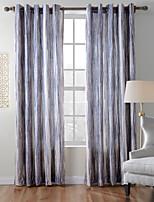 twopages coleção diana malha grossa de veludo 850gsm contemporânea mão sentir ramdon cortina painel cortina listra (um painel)