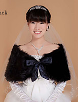 The bride wool shawls Banquet hosted a black shawl Cape small coat PJ025 stage