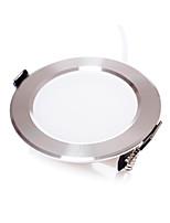7W LED Encastrées Encastrée Moderne SMD 5630 500 lm Blanc Chaud / Blanc Froid Gradable AC 100-240 V 4 pièces