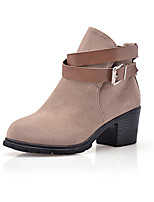 Women's Shoes Low  Heel Round Toe Ankle Boots More Colors available