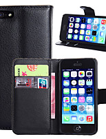 iPhone 7 Plus PU Leather Flip Capa Case For Apple iPhone 5/5S Wallet Holder Cover Bag