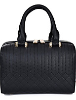 Women PU Baguette Shoulder Bag / Tote - Beige / Pink / Silver / Black / Khaki