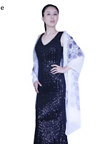 Wedding / Party/Evening Polyester Shawls / Scarves Sleeveless Wedding  Wraps