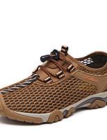 AMANDEL Men's Mesh Breathable Climbing Shoes Slip on Hiking Shoes Non-slip Sneakers More colors  EU 39-43