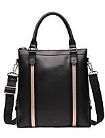 X.BNJ Men Briefcase High-end Soft Genuine Leather Men Business Handbag Vintage Top Layer Cowhide Shoulder Bags