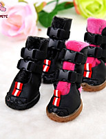 FUN OF PETS® Warm Buttons  Boots for Pets Dogs (Assorted Colors and Sizes)