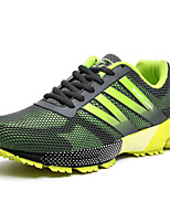 Zapatos Running Tul Azul / Amarillo / Negro Hombre