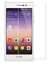 verre trempé film de protection d'écran pour Huawei Ascend p7