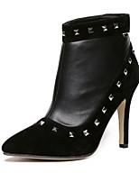 Scarpe Donna - Stivali - Casual - Stivali - A stiletto - Finta pelle - Nero