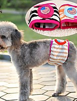 FUN OF PETS®Striped Design  Physical Pant for Pet Dogs(Assorted Sizes and Random Color)