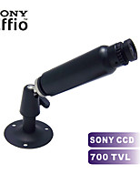 de color 700tvl tamaño mini cámara 3.7mm cámara gran angular de seguridad CCTV de interior: 75 * 18mm