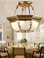 Pendant Lights Mini Style Traditional/Classic Bedroom / Dining Room / Kitchen / Study Room/Office Metal