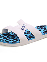 Men's Shoes Outdoor / Casual Rubber Slippers Blue / Green / Orange