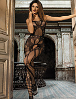 Women's Seductive Crotchless Cut Out Bodystocking Nightwear
