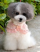 FUN OF PETS® Multilayer Embroidery Chiffon Lace Cosplay Collar for Pets Dogs(Assorted Colours)