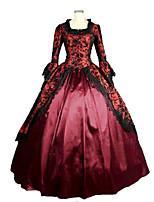 periodo cosplay satén baile vestido de fiesta vestido de ropa de teatro recreación gótica steampunk®victorian