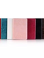 7.9 polegadas padrão pele de crocodilo de alta qualidade luxo estojo de couro pu para ipad mini-4 (cores sortidas)