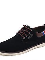 Da uomo Sneakers Stivali alla cowboy Pelle nubuck Primavera Estate Autunno Inverno Casual Footing Borchie Piatto Nero Marrone Blu Piatto